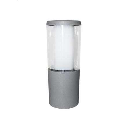 Carlo 250 mm Grey Clear LED 3.5W Bollard Post Light
