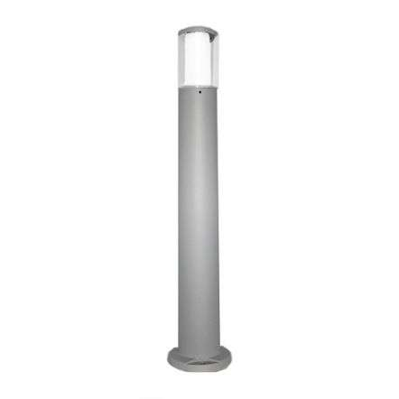Carlo 800mm Grey Clear LED 3.5W Bollard Post Light