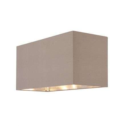 Cassier Large Shade in Taupe Finish