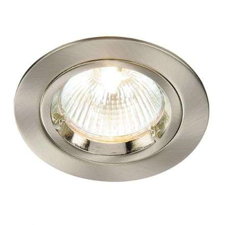 Cast Fixed 50W Downlight in Satin Nickel