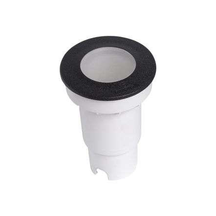 CECI 90mm Black LED Walkover Light