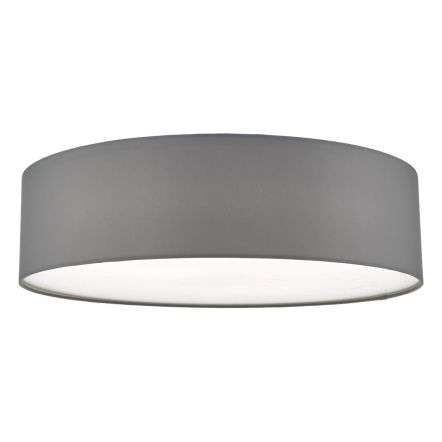 Cierro 4 Light Flush Fitting in Grey
