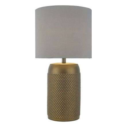 Coimbra Table Lamp Bronze Complete with Shade