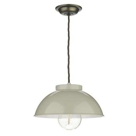 Cotswold 1 Light Pendant French Cream