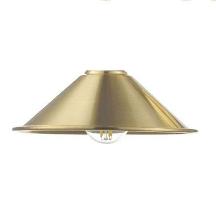 Dar Lighting ACC861 Metal Aged Brass Shade