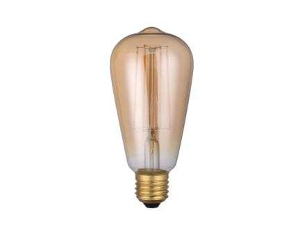Dar Lighting BUL-E27-LEDV-1 E27 LED DIM VINT RUSTIKA LAMP 4W 300LM 1800K