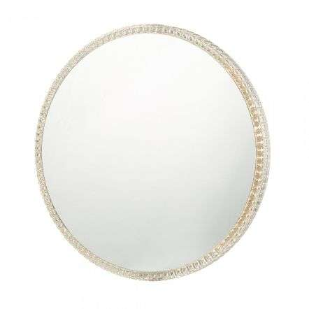 Dar Lighting YEV89 Yevan Illuminated Wall Mirror IP44