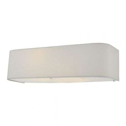 Dar Ligthing RON092 Ronda 2 Light Wall Light Ivory