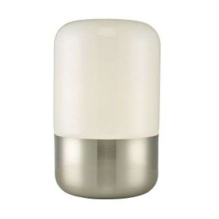 Deacon Touch Table Lamp Satin Nickel