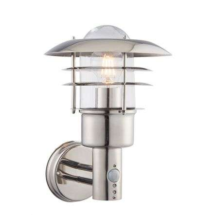 Dextor Outdoor Wall Light with PIR IP44