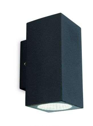 Dino LED 2 Light Wall Light IP65 6W LED 4000K