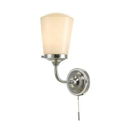 d�r lighting CAD0750 Caden Bathroom Wall Light Polished Chrome