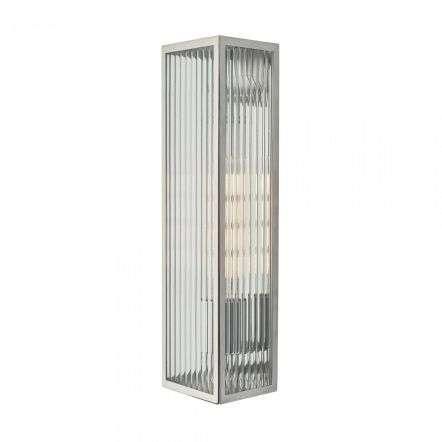 d�r lighting KEE5044 Keegan 1 Light Wall Light Polished Stainless Steel IP44