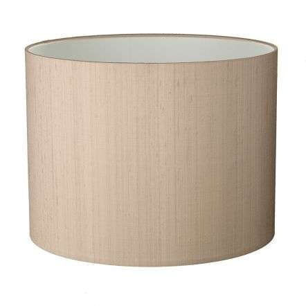 Drum Medium 13CM 100% Silk Shade with Shade Colour Options