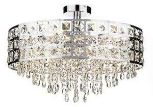 Duchess 6-light Round Pendant Polished Chrome