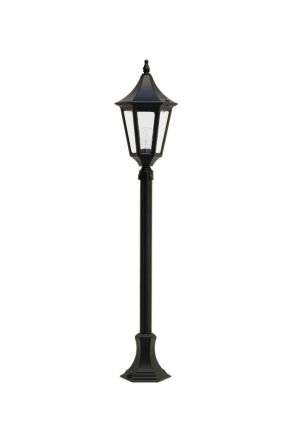 Duran 6-Sided Medium Post Lantern | Online Lighting Shop