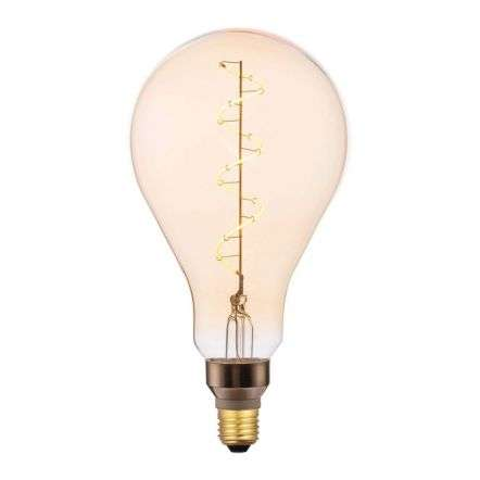E27 LED Dimmable Vintage Filament 4W 300 Lumens Amber