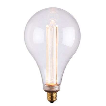 E27 LED XL Globe 148mm Clear Glass