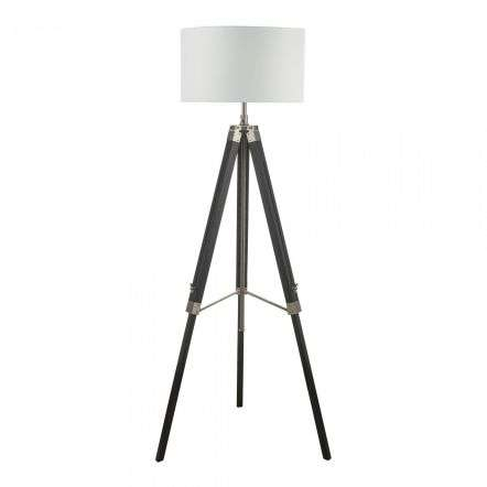 Easel Tripod Floor Lamp Black Base Only