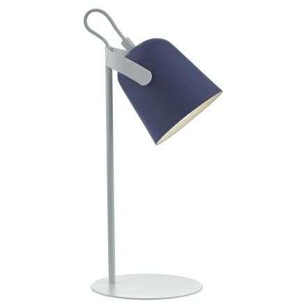 Effie Task Lamp Blue & White