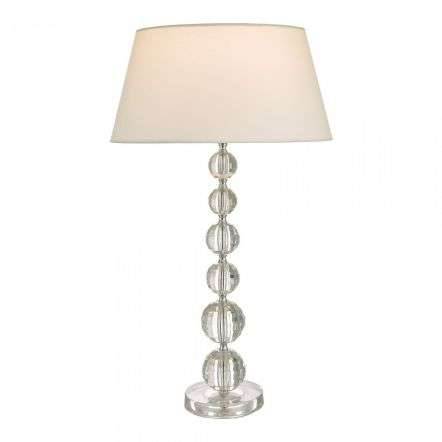 Epona Table Lamp Clear With Shade