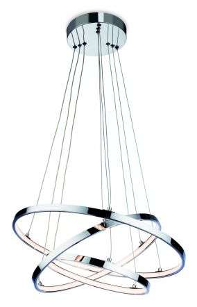 Esprit LED Pendant in Chrome Finish