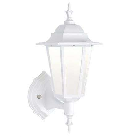 Evesham White Wall Lantern IP44 7W Cool White