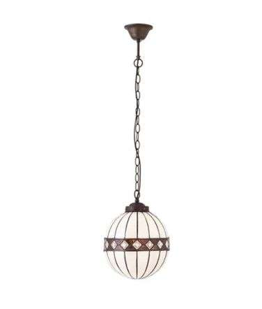 Fargo Small Globe 1 Light Pendant 40W