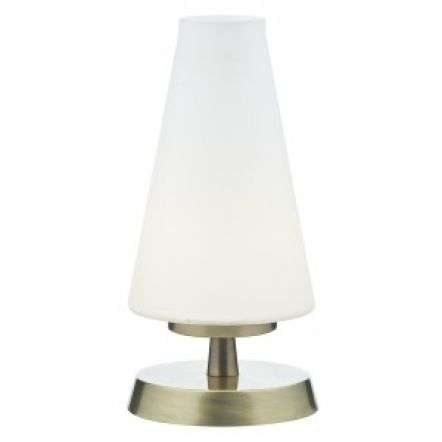 Finn Touch Table Lamp Antique Brass