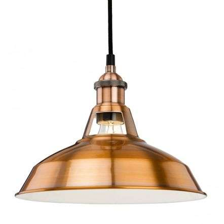 Firstlight Albany Pendant Light Brushed Copper