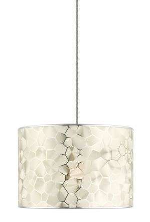 Fragma Non Electric Pendant Satin Chrome Effect