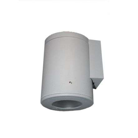Franca 90mm Wall Light in Grey Finish