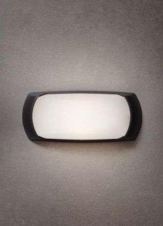 Francy 6W LED Bulkhead Black
