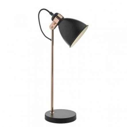Frederick Task Lamp Black & Copper