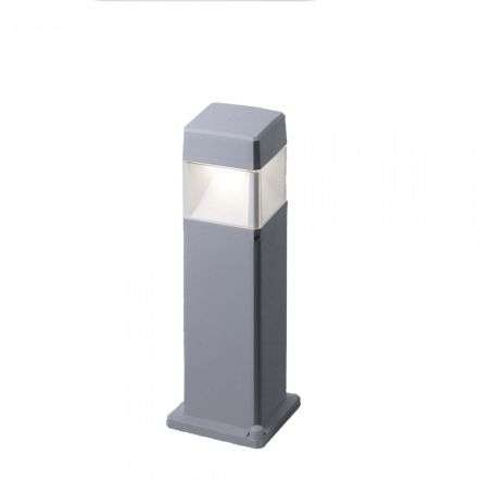 Fumagalli ELISA500/LED7GY Elisa 500mm Grey Clear LED 7W GX53 Bollard Post Light