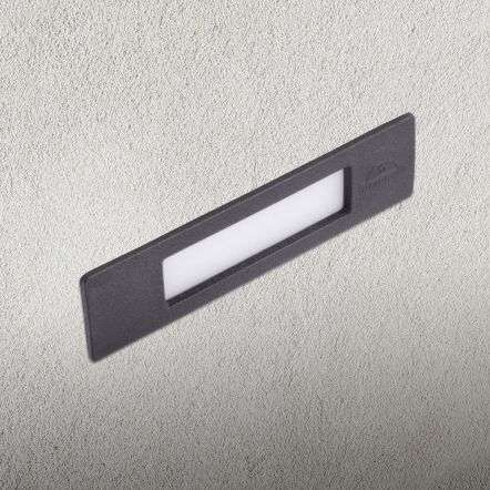 Fumagalli NINA190BL NINA 190 8.5W Black Recessed Wall Light