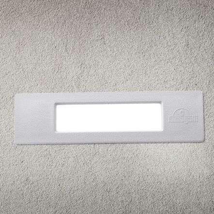 Fumagalli NINA190GY Nina 190 8.5W White Recessed Wall Light