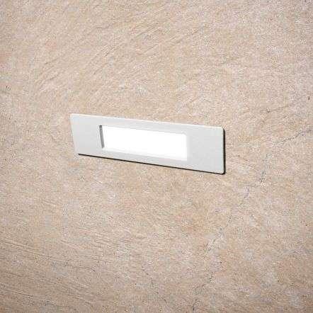 Fumagalli NINA190WH Nina 190 8.5W White Recessed Wall Light Resin Material