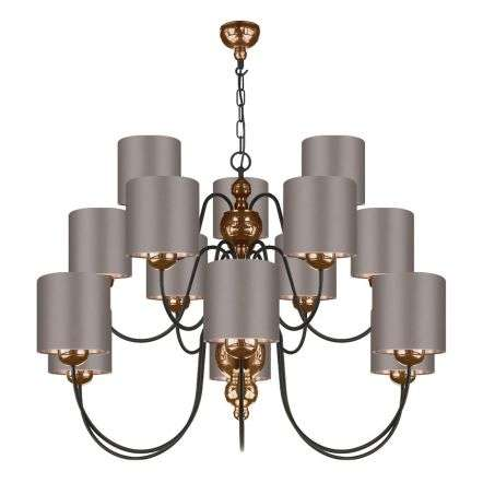 Garbo 15 Light Bronze Complete with Bespoke Shades