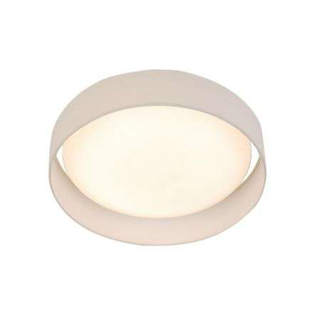 Gianna 1 Light 500mm Flush Ceiling Light White Shade