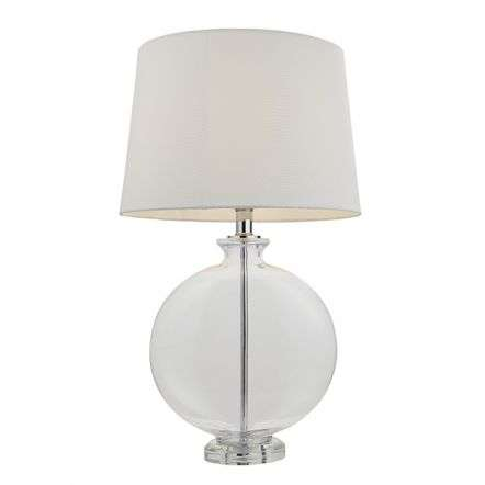 Gideon Polished Nickel Table Lamp