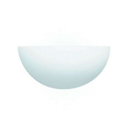 Gypsum Ceramic Wall Light Bombay - Dia 30Cm Uplighter