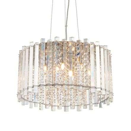 Hanna Crystal 5 Light Pendant