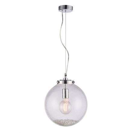 Harbour Clear Glass Single Pendant Dia:300mm