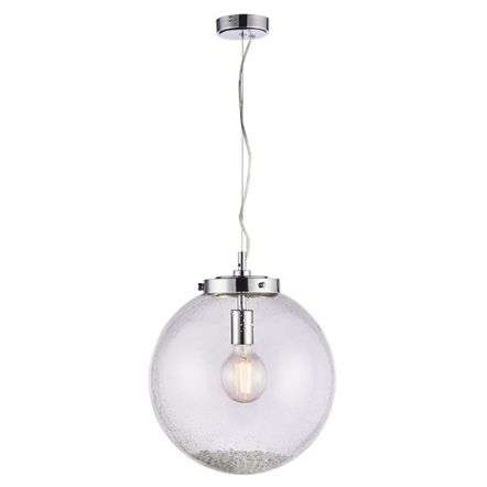 Harbour Clear Glass Single Pendant Dia:350mm