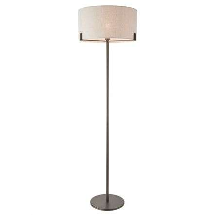 Hayfield Floor Lamp in Brushed Bronze