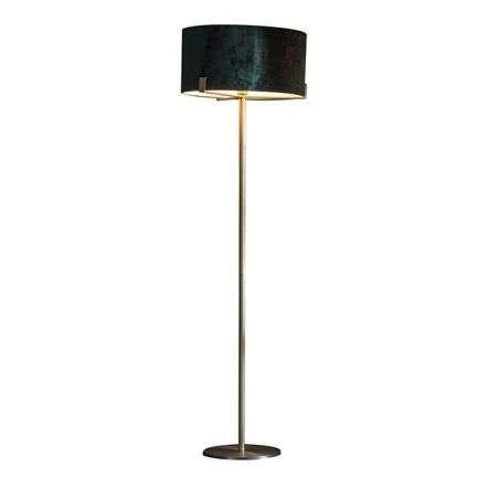 Hayfield Floor Light in Matt Antique Brass