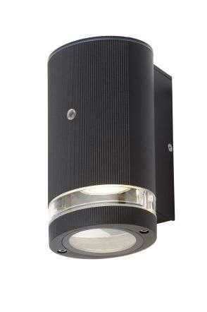 Helix Black Downlight with Photocell Sensor IP44
