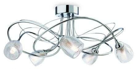 Henley 5 Light Flush Fitting