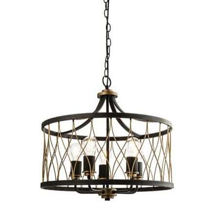 Heston 5 Light Pendant 60W